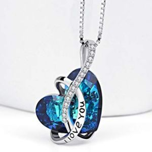 Jewelry - I Love You Heart Pendant Necklace
